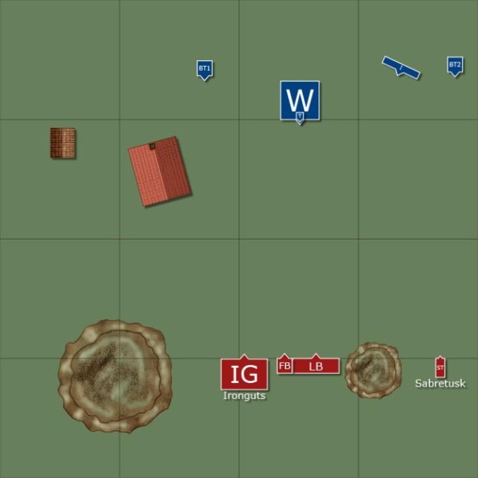 Ogre_Kingdoms_vs_Dwarves_22Oct13_Deployment