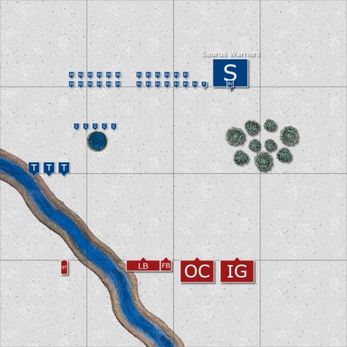 Ogre_Kingdoms_vs_Lizardmen_26Nov13_Deployment